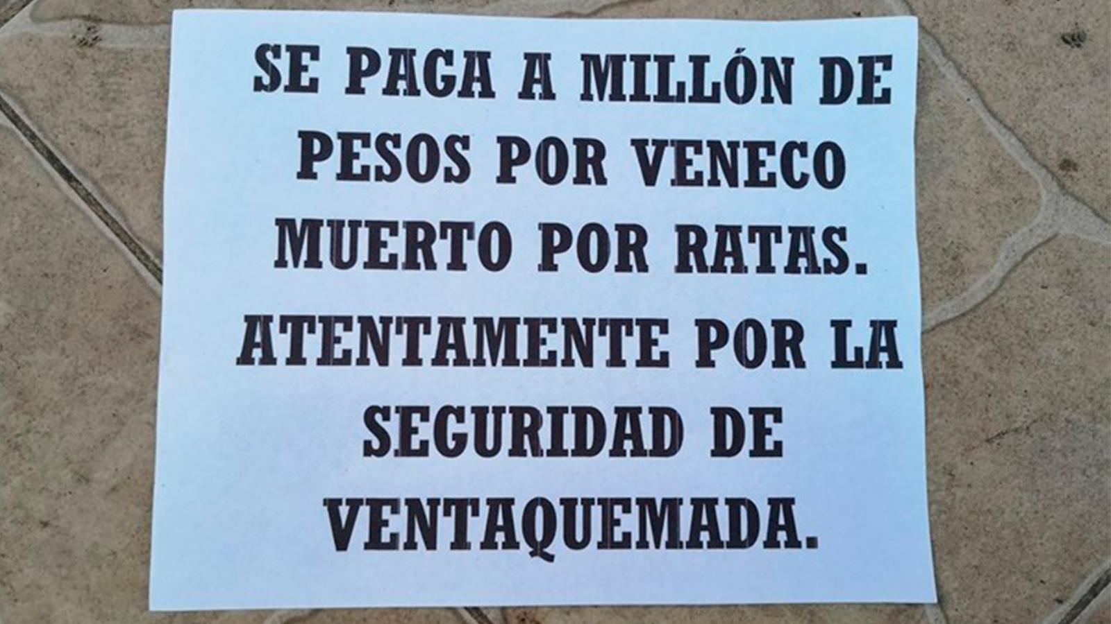 Aparecen panfletos amenazantes contra venezolanos en Boyacá