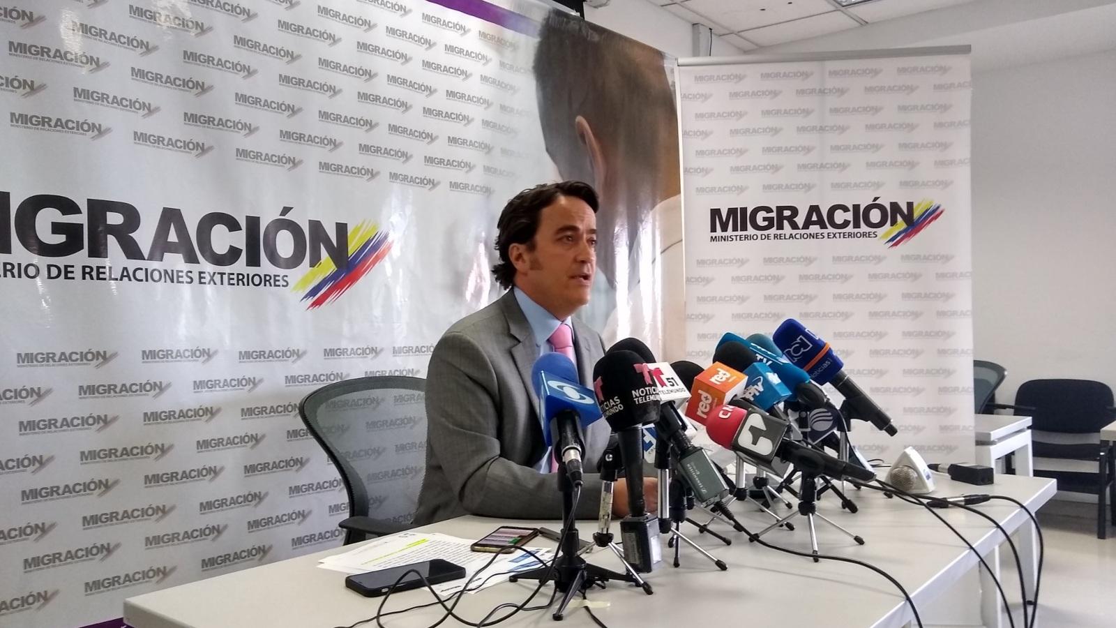 Renunció director de Migración Colombia
