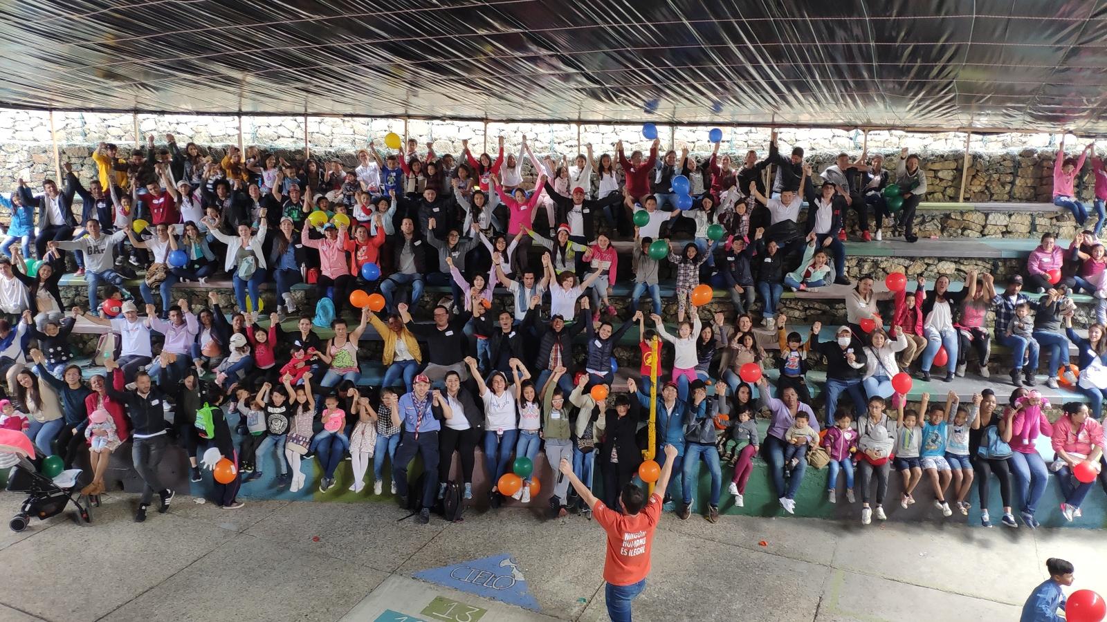 El Paraíso, un barrio bogotano que abrió sus puertas a los migrantes