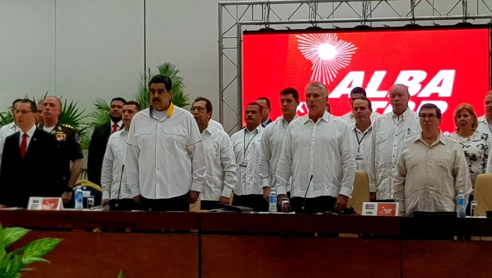 ALBA concluyó en tensión entre EE.UU y Cuba por apoyo a Venezuela