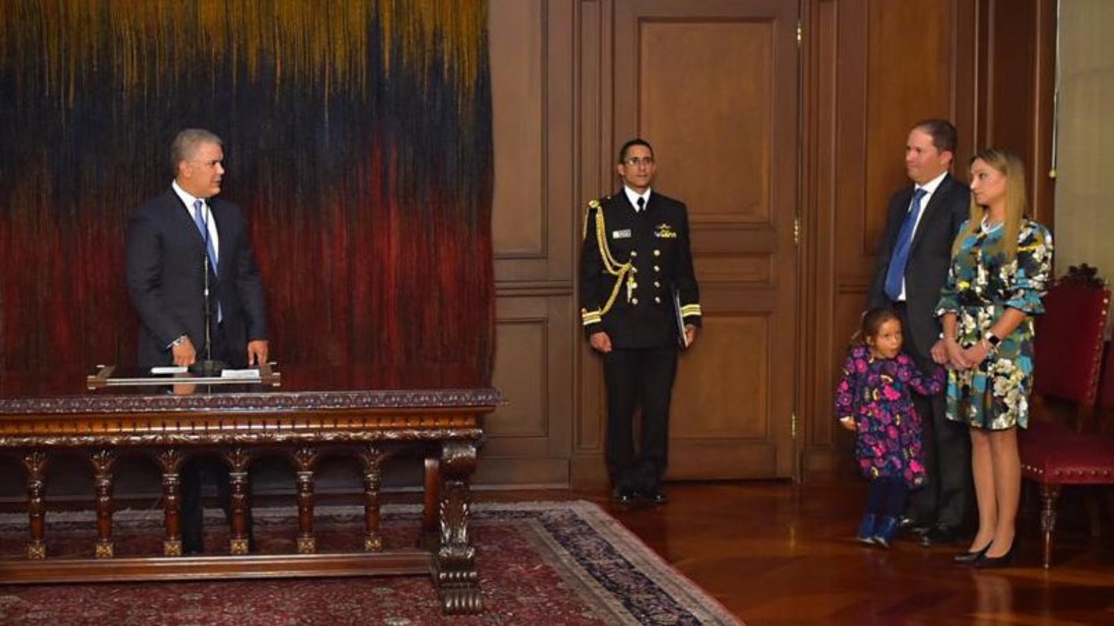 Ex viceministro de Justicia se posesionó como nuevo director de Migración Colombia