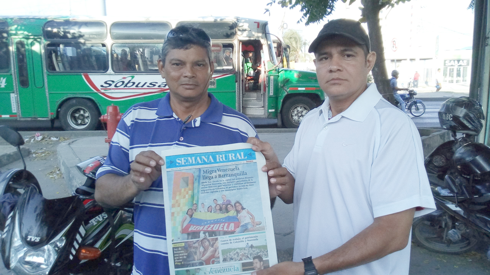Periódico Migra Venezuela, ahora en las cinco ciudades con más migrantes