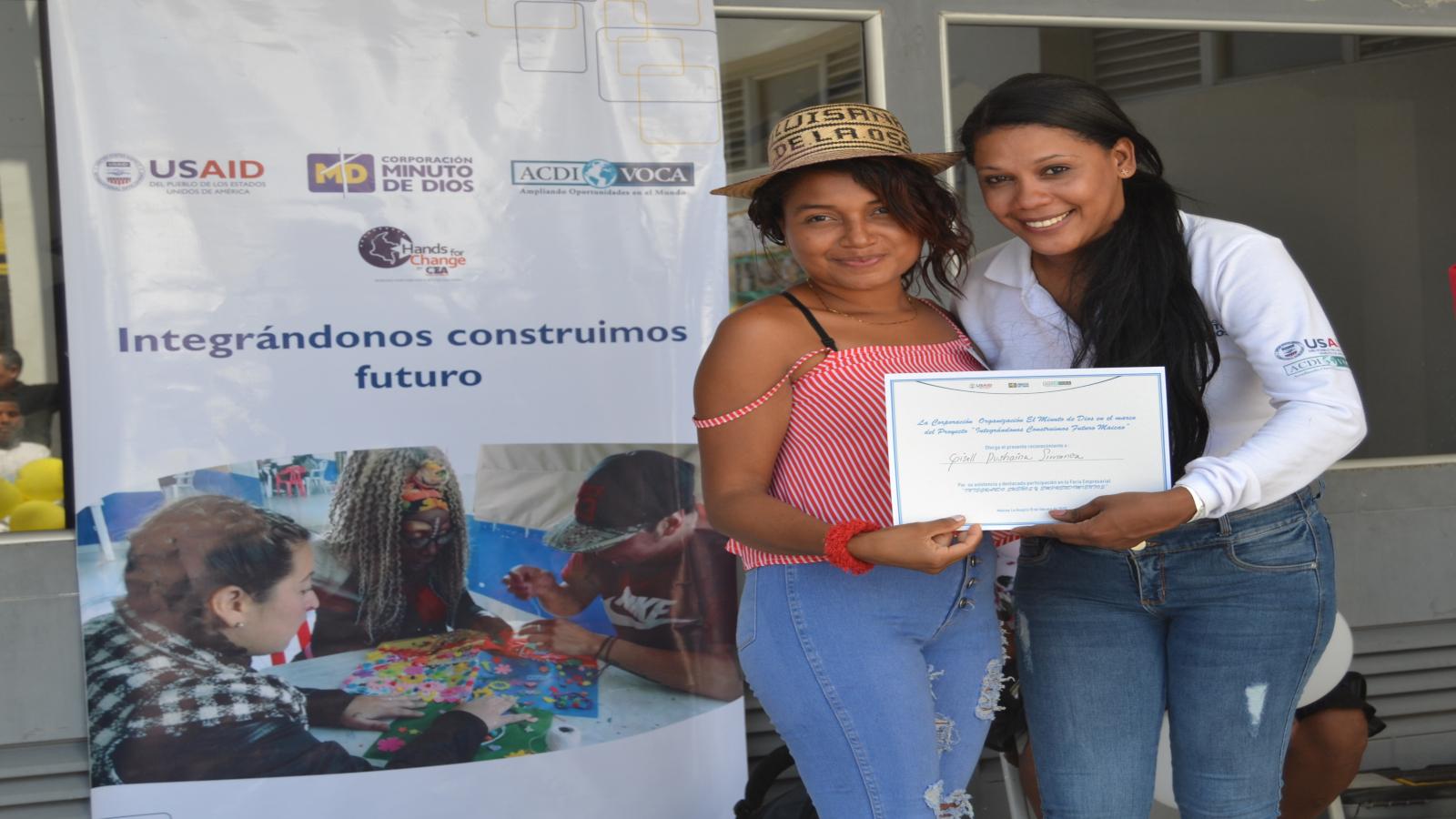 Maicao le abrió las puertas a 103 migrantes emprendedores