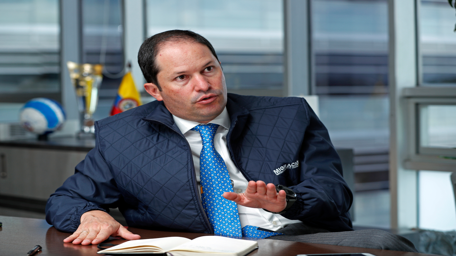 """Director de Migración Colombia: """"La migración continuará y debemos adaptarnos"""""""