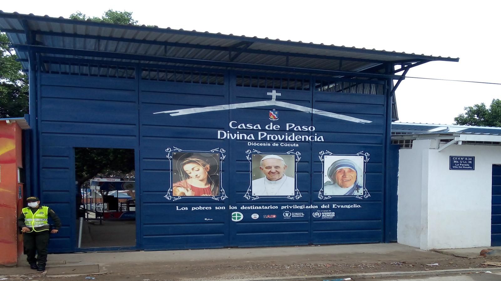 Casa Divina Providencia suspende comedor para migrantes en Cúcuta