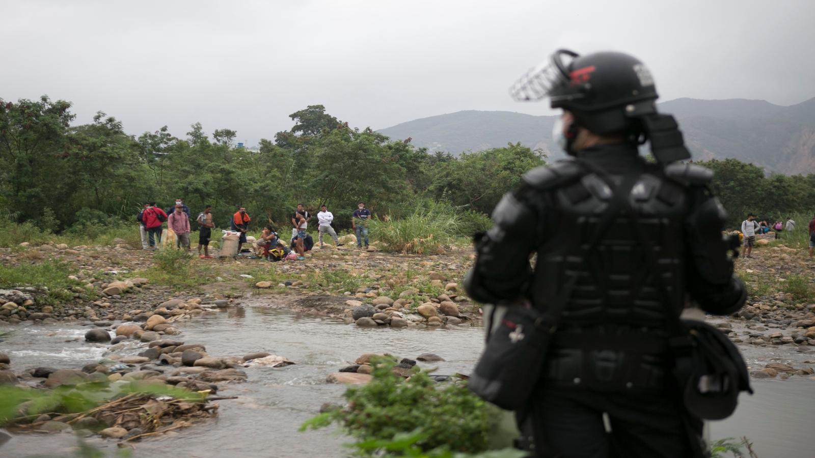 Militarizan La Parada, en Cúcuta, y zonas aledañas al puente Simón Bolívar