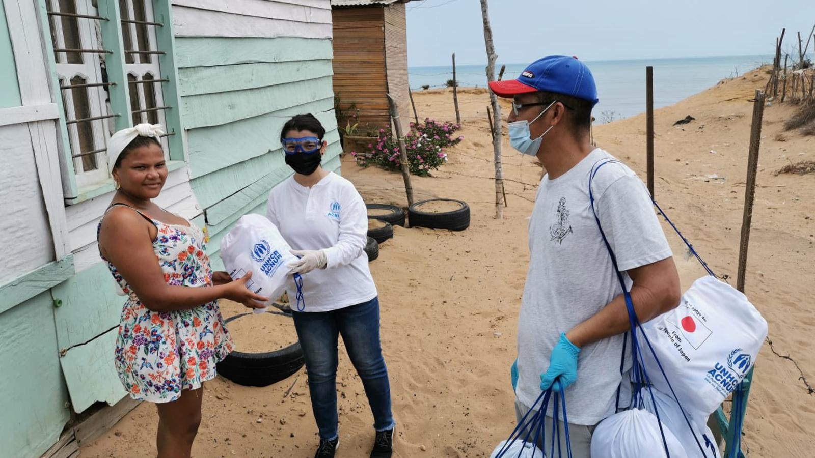 Desde Japón envían ayudas para migrantes en La Guajira