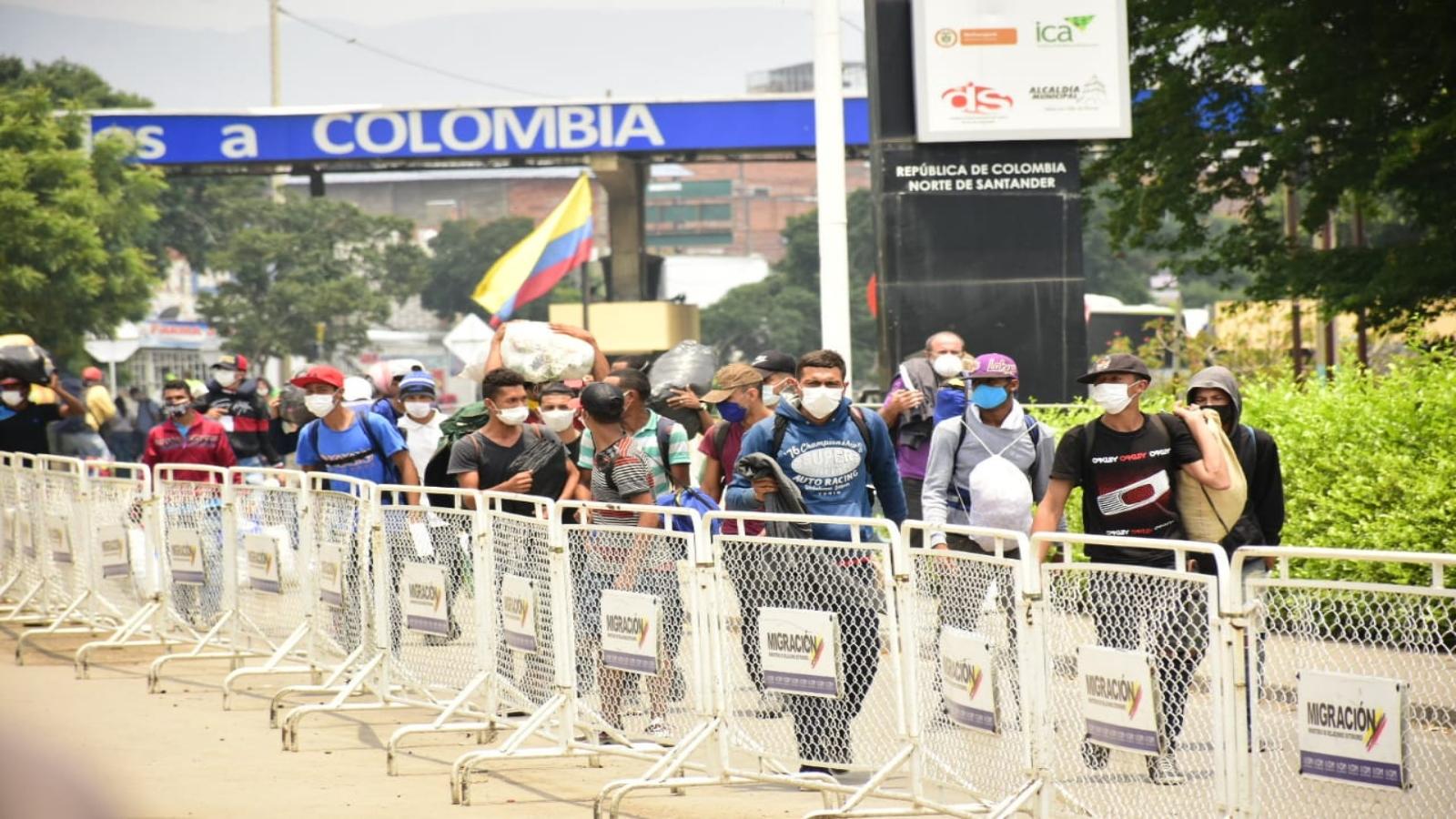 Solo tres días a la semana podrán retornar los venezolanos a su país
