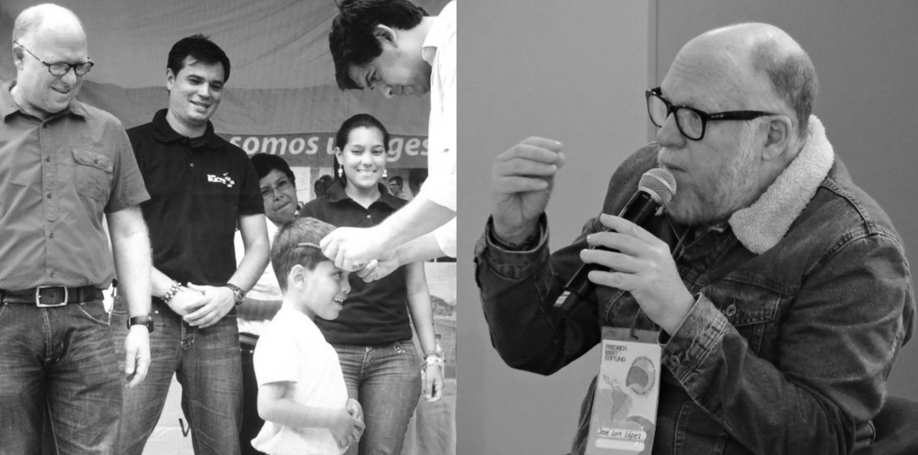 Ciudadanos venezolanos lamentan la muerte de José Luis López Noriega