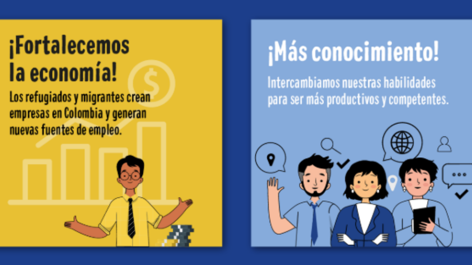 VIDEO | Artistas y deportistas se unen contra la xenofobia en Colombia