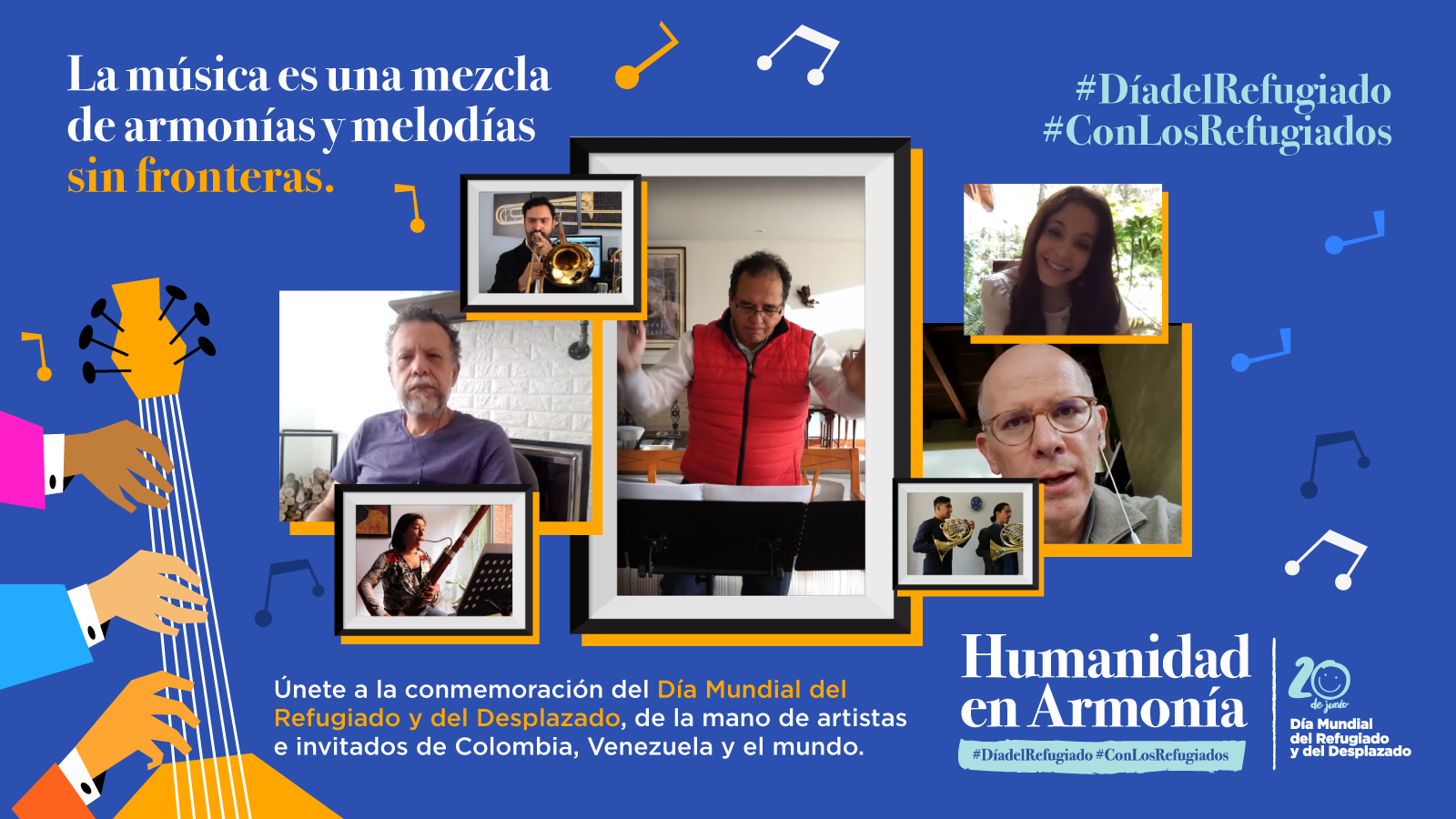En vivo | Humanidad en Armonía, un encuentro musical de integración