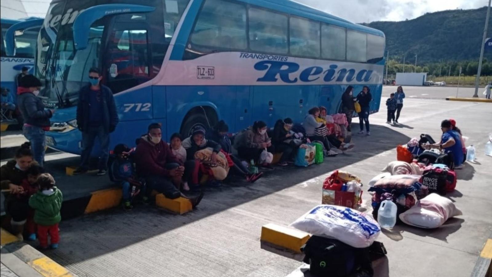 Retorno de migrantes varados en Bogotá duraría más de un año