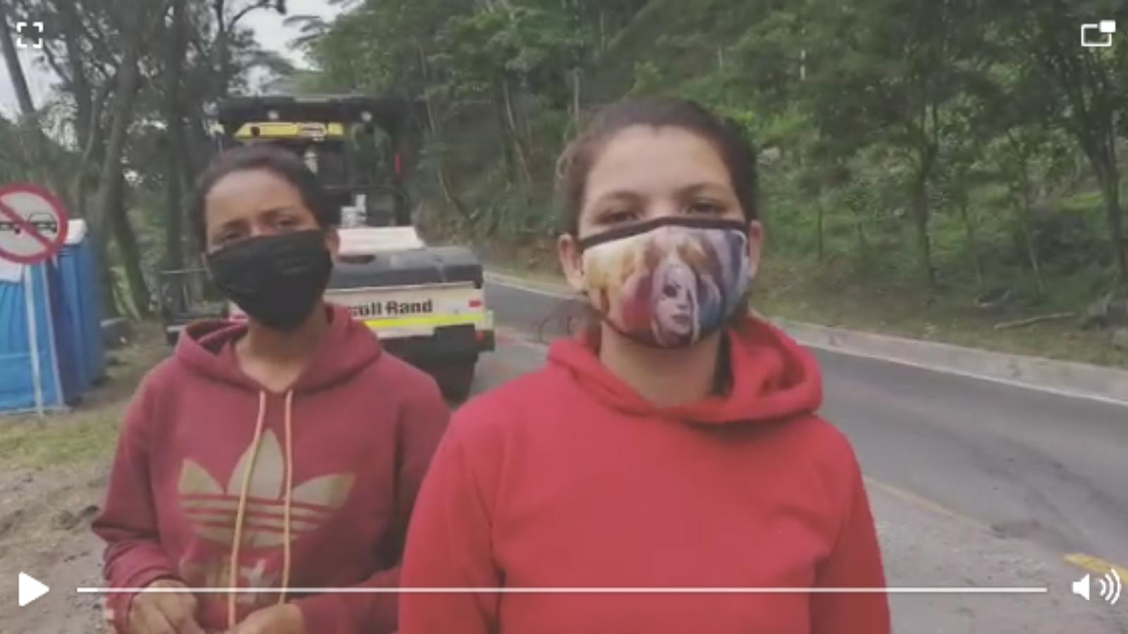 A pie desde Perú: la dura travesía que dos migrantes deberán repetir