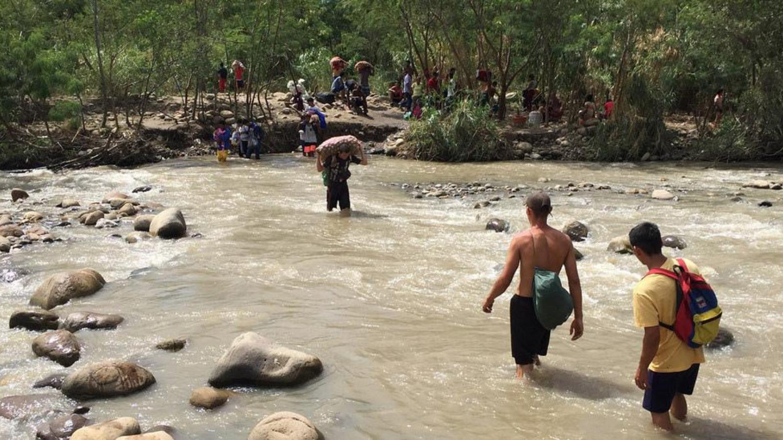 Más de 1.000 personas han sido desplazadas por violencia en frontera colombo-venezolana