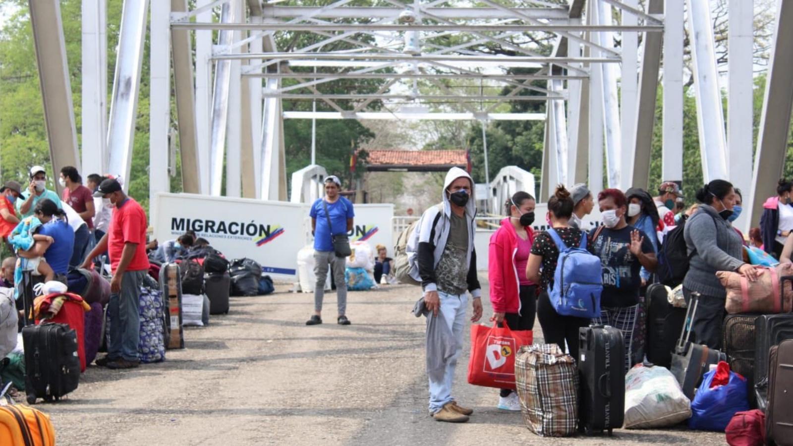 Sigue bajando la cifra de venezolanos en Colombia