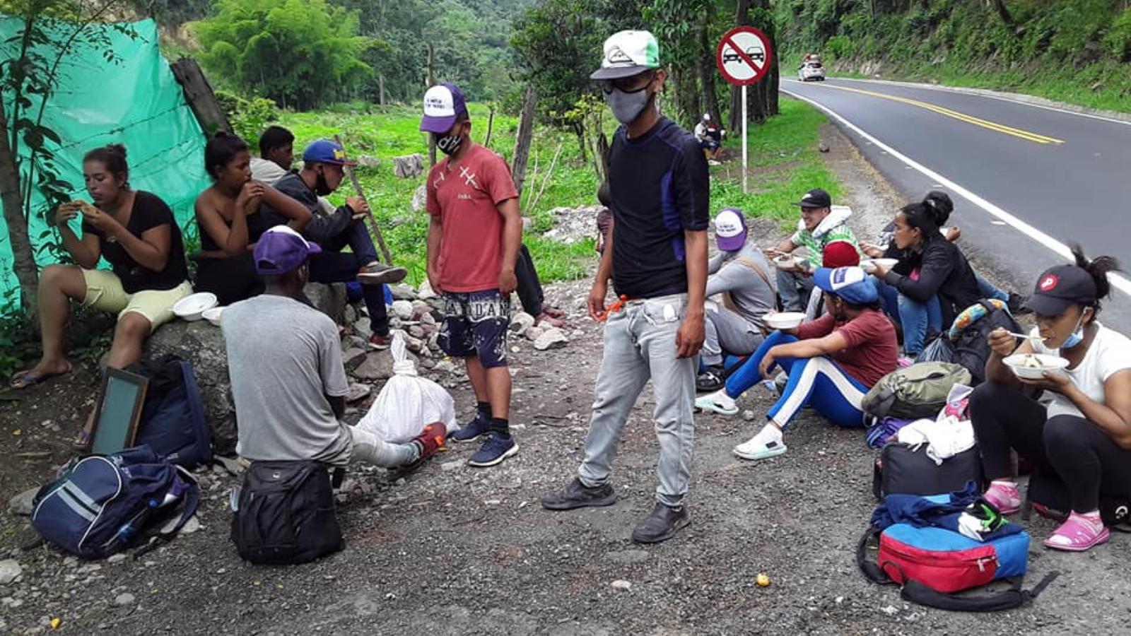 Fin de la cuarentena reactivó la migración venezolana