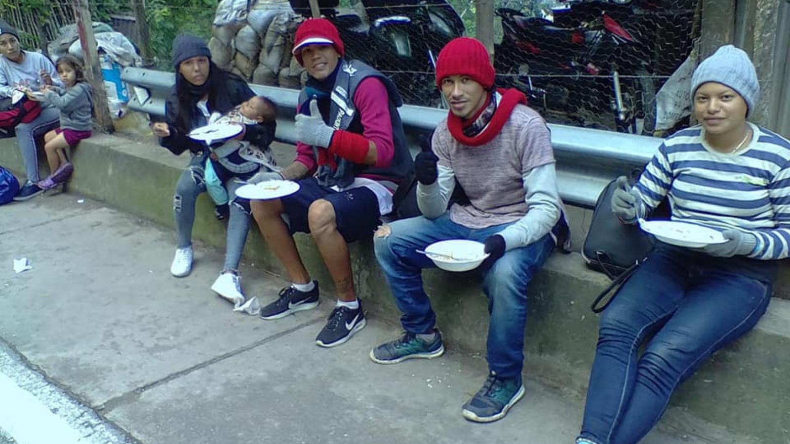 Alerta: 400 caminantes al día en la ruta Cúcuta - Pamplona