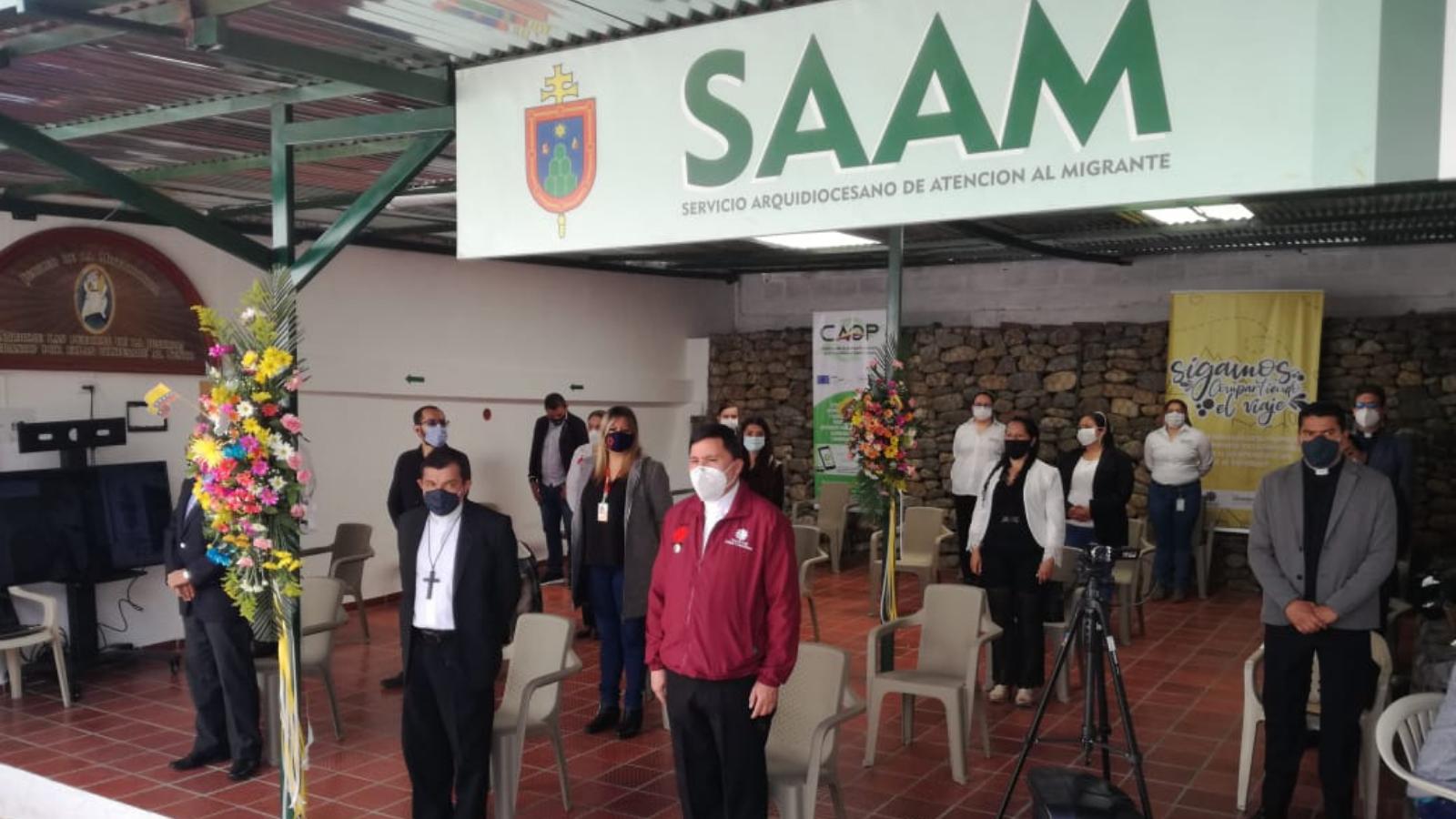 Pastoral abrió en Pamplona Servicio de Atención al Migrante