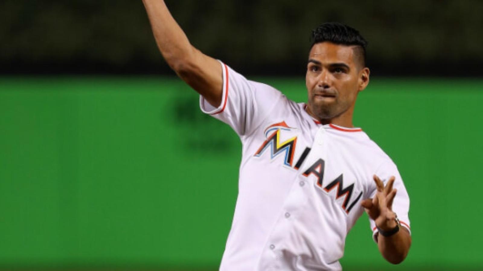 Radamel Falcao y su afición por el béisbol