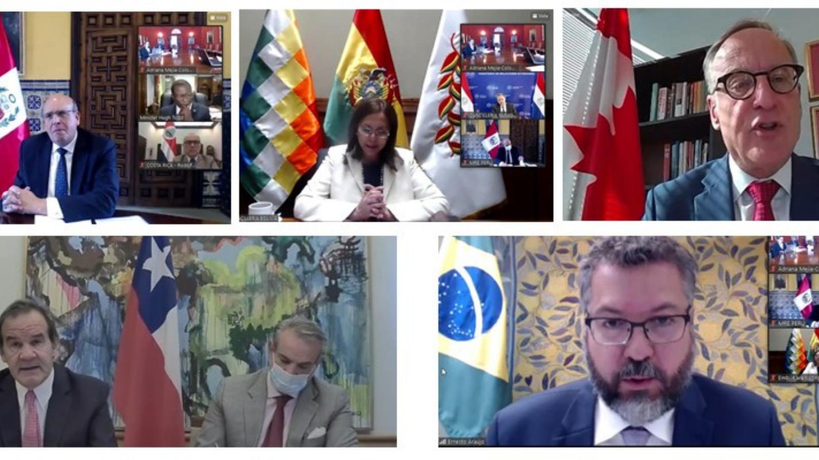 Grupo de Lima reitera la importancia de acoger a migrantes