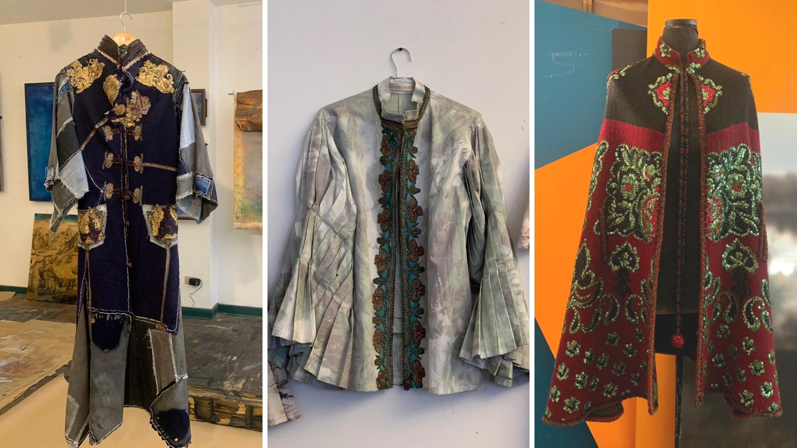El arte de crear ropa nueva con telas usadas