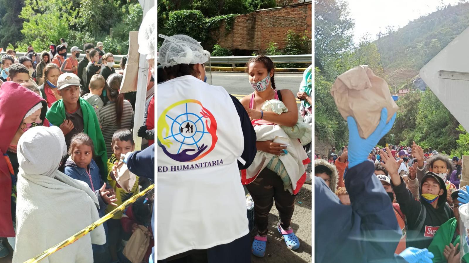 Fuerte llamado de auxilio por migrantes en Pamplona