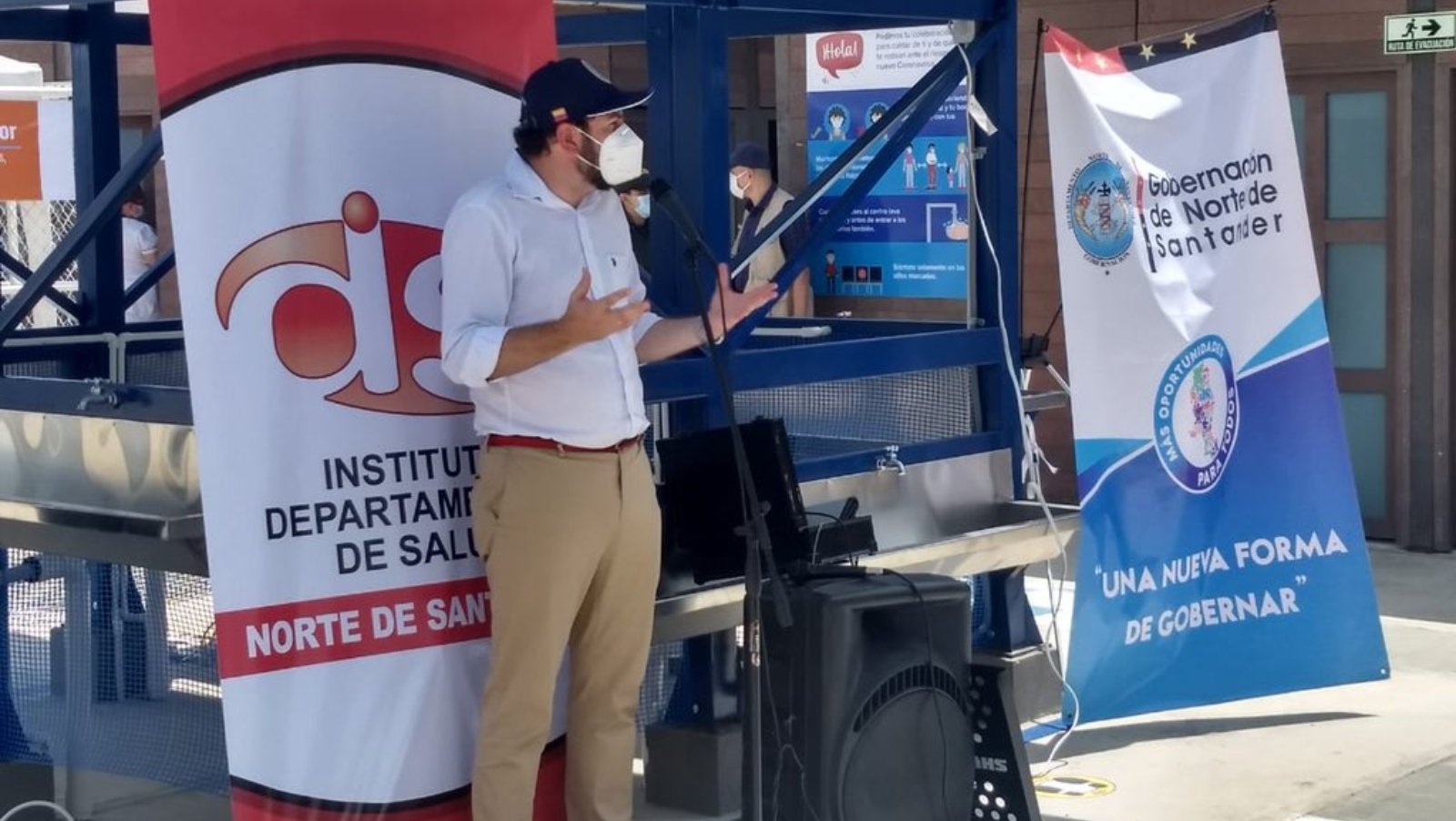 Abren nuevo Espacio de Apoyo a migrantes en Puerto Santander