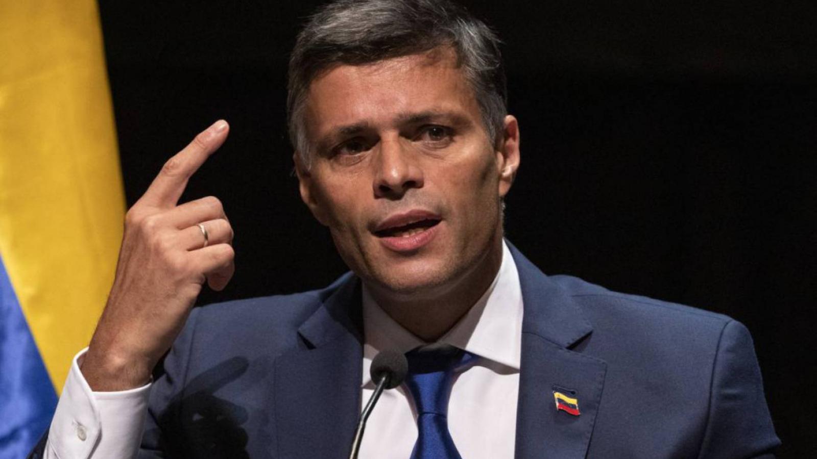 Leopoldo promete conseguir ayuda humanitaria para Venezuela