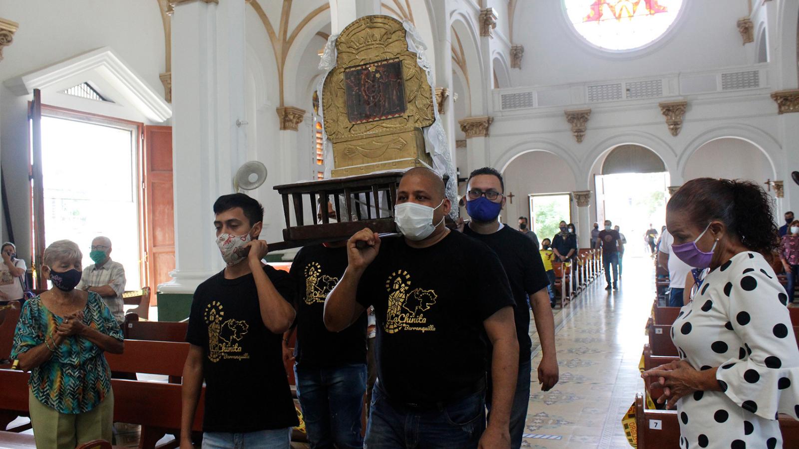 La Virgen zuliana que hoy veneran en Barranquilla