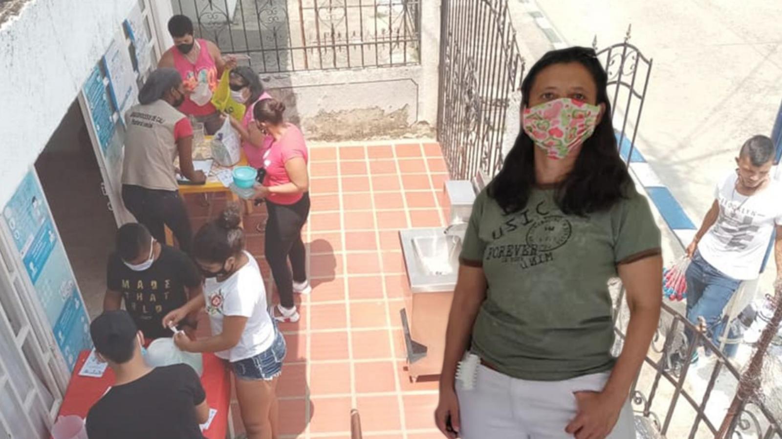 Reciclaje por almuerzo, la iniciativa caleña para migrantes
