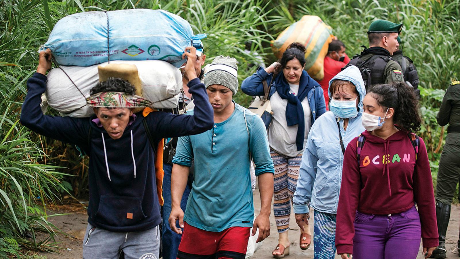 Sigue en aumento cifra de venezolanos en el país