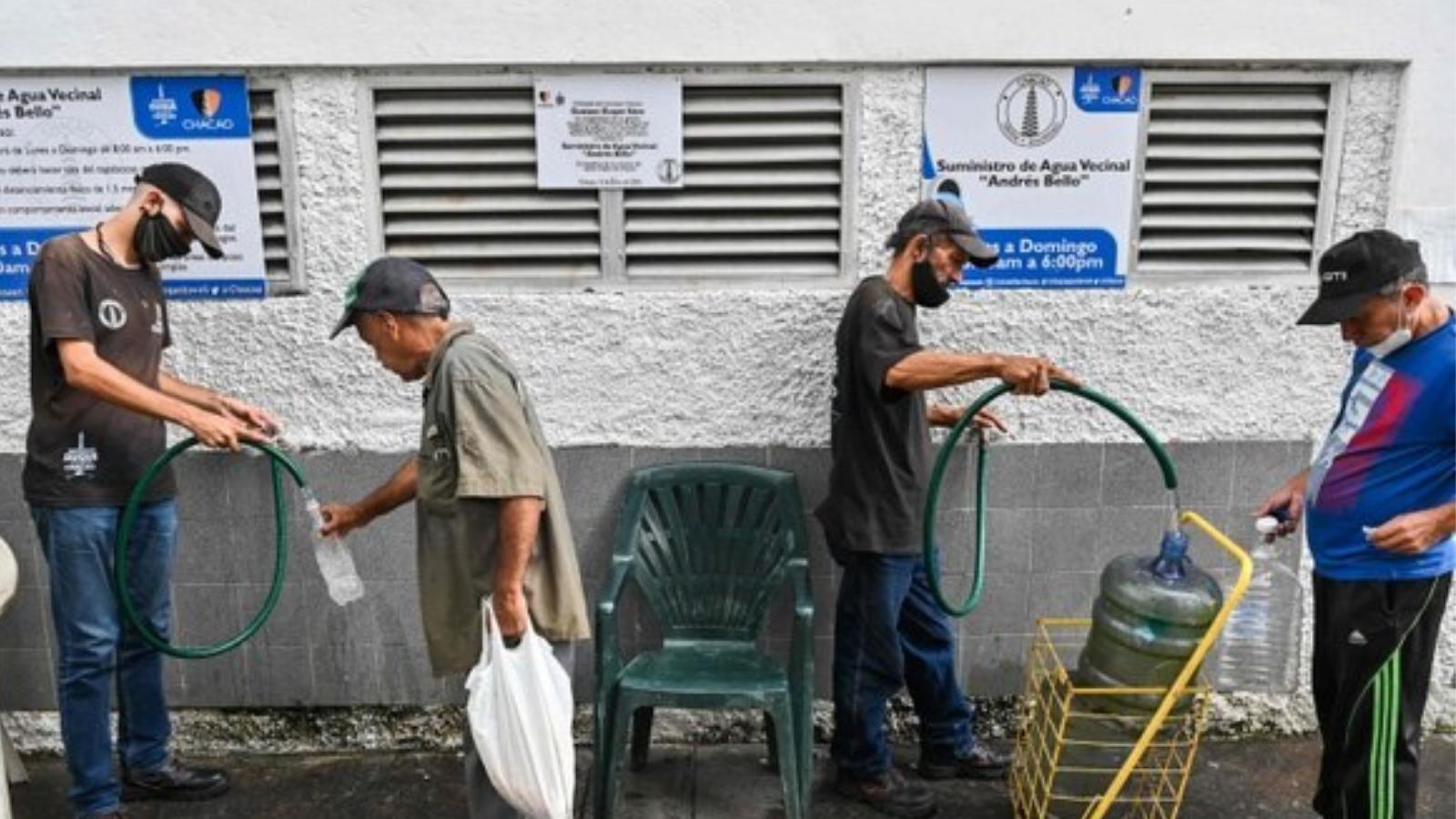 Al 99% de los venezolanos se les dificulta el acceso al agua