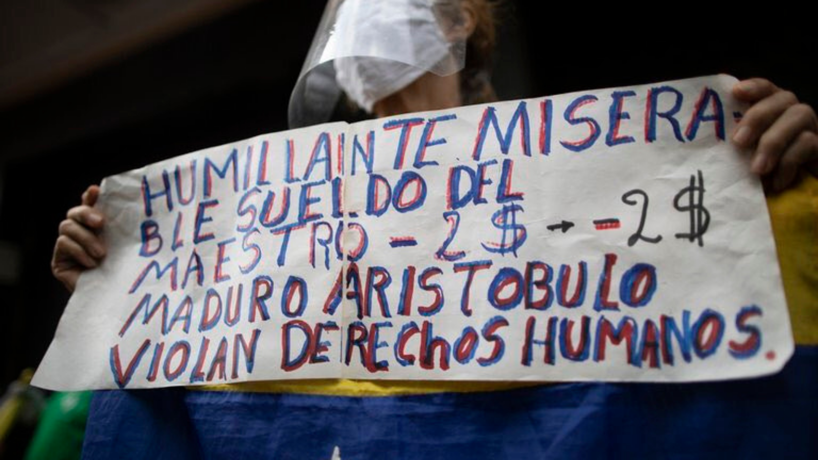 Maestros en Venezuela: el sueldo no alcanza para desayunar