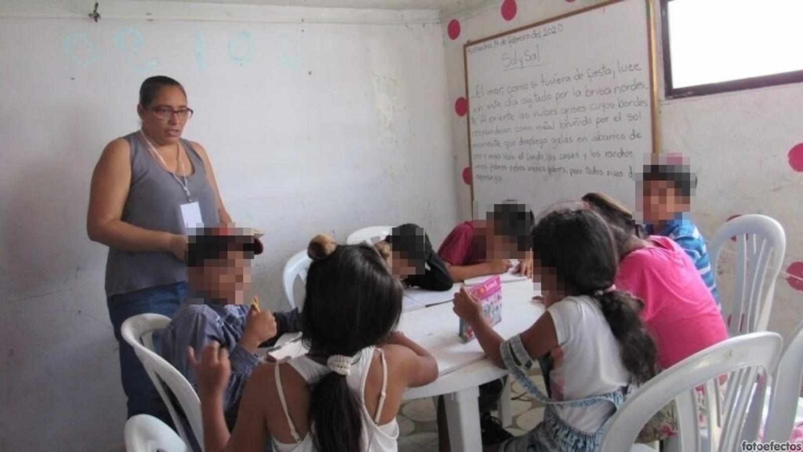 Fundación ha insertado a 90 niños venezolanos en colegios de Riohacha
