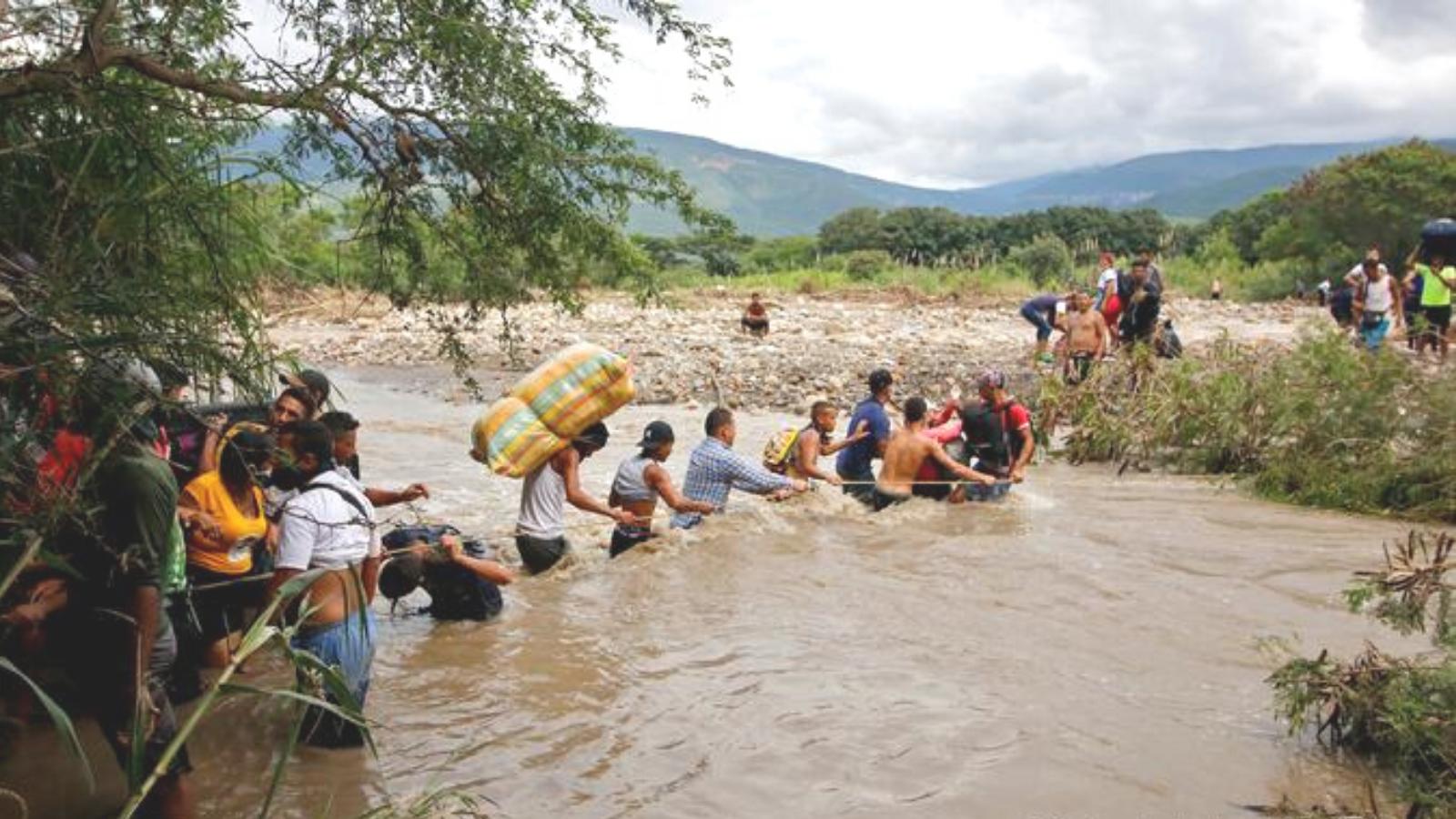 Financiación para refugiados sirios, 12 veces mayor que para venezolanos