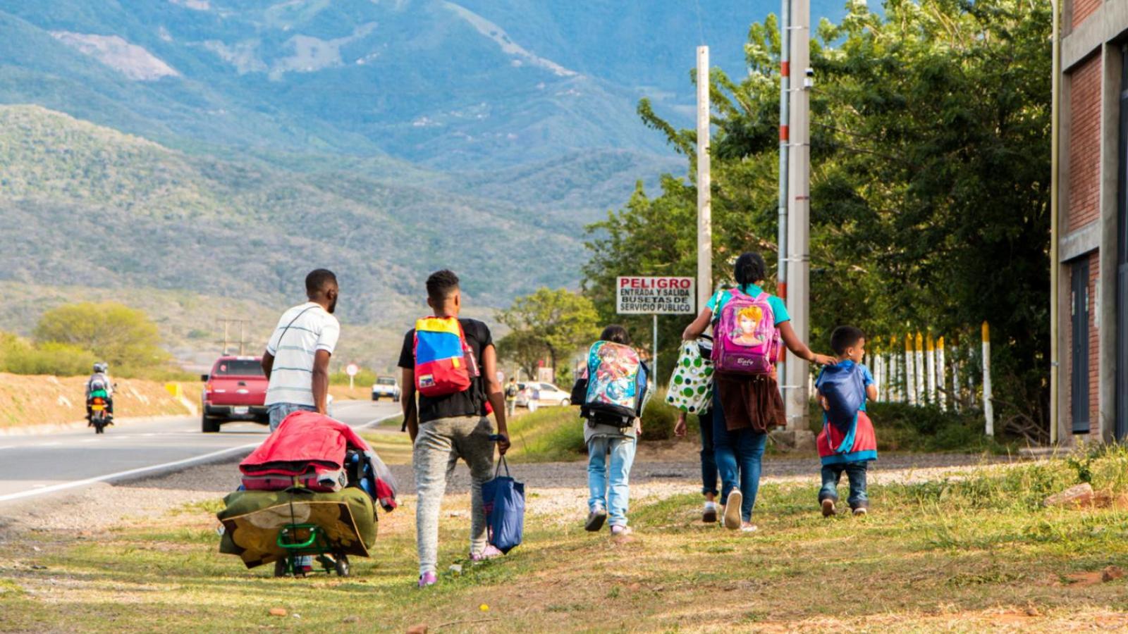 Más de 13 mil venezolanos ingresaron a Colombia en el primer mes del año