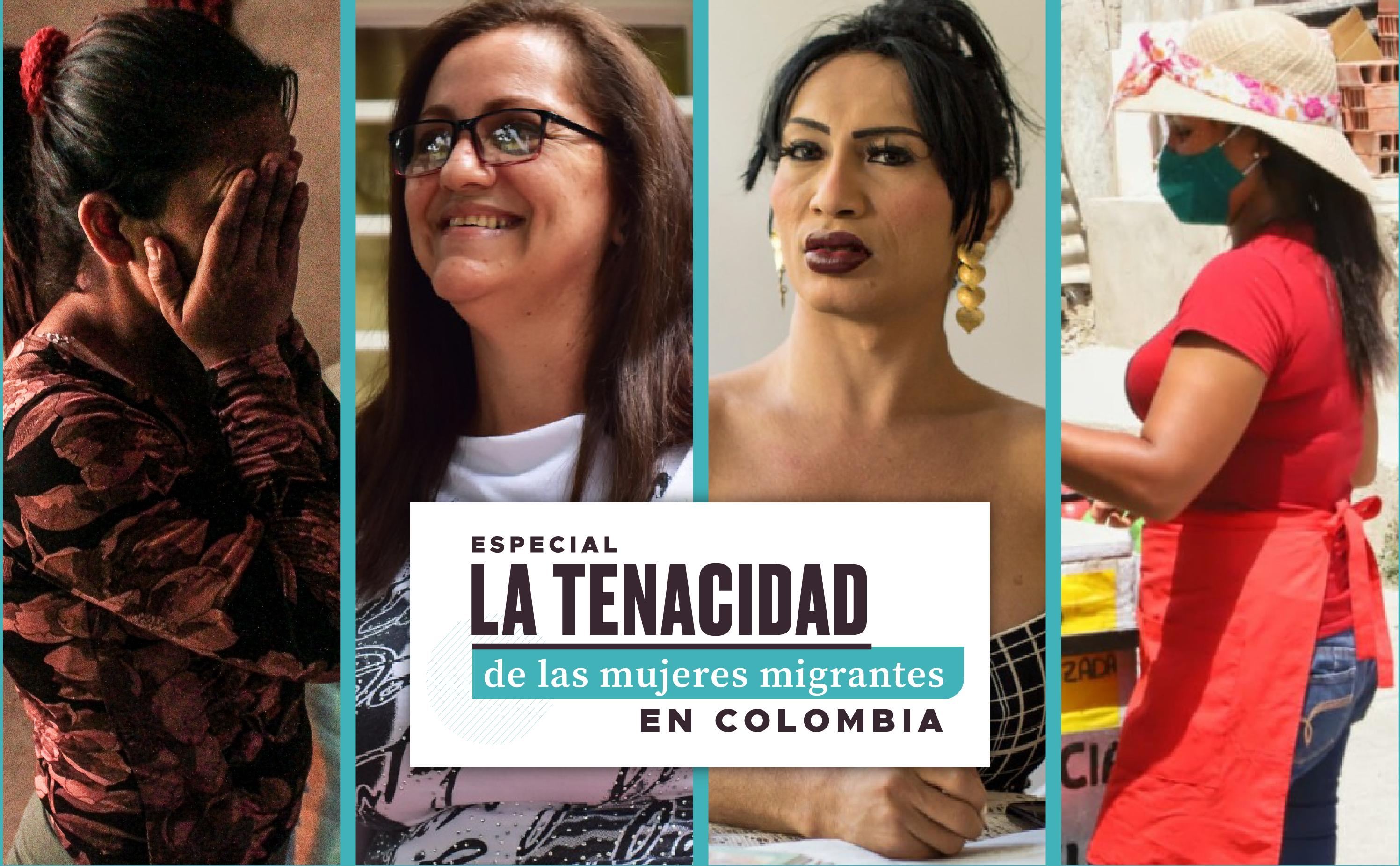 ESPECIAL | La tenacidad de las mujeres migrantes en Colombia