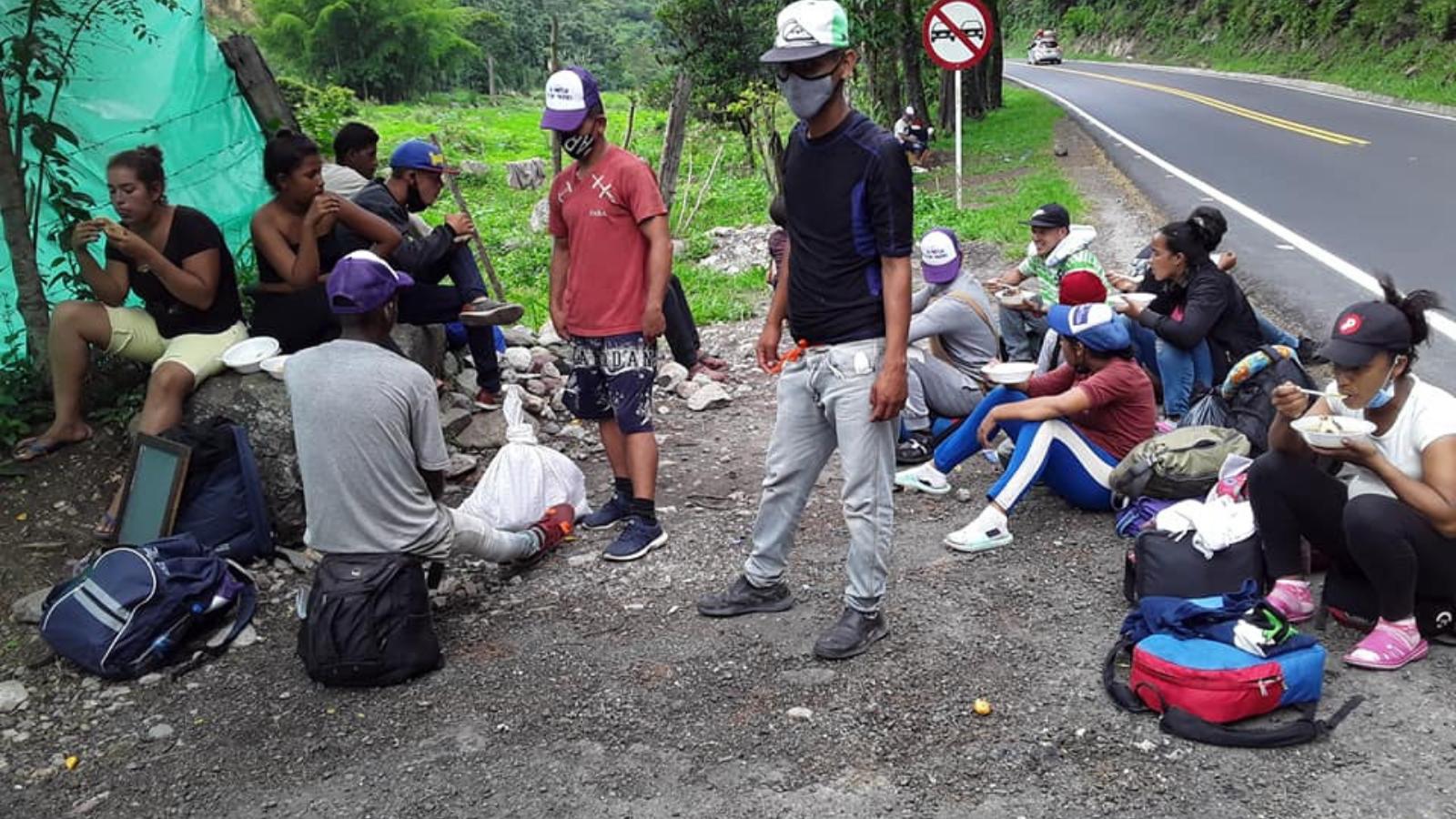 EN VIVO | Conozca cómo viven los migrantes venezolanos en Colombia