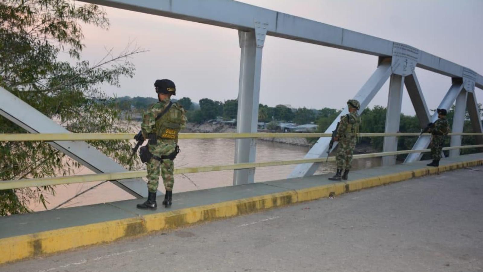 Crece tensión militar entre Colombia y Venezuela en la frontera de Arauca