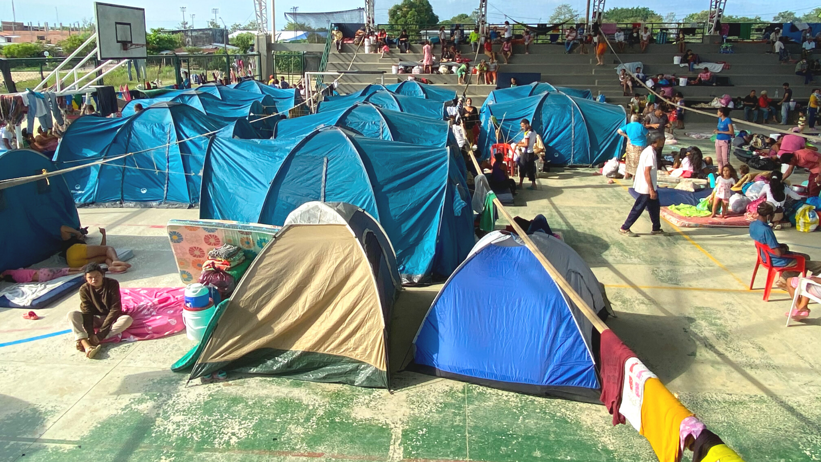 Detectan 19 casos de covid en albergue para desplazados de Arauquita