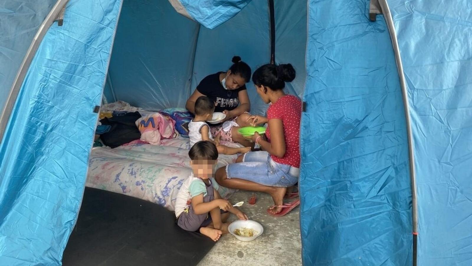 Hay más de 200 madres gestantes entre los desplazados venezolanos de Arauquita