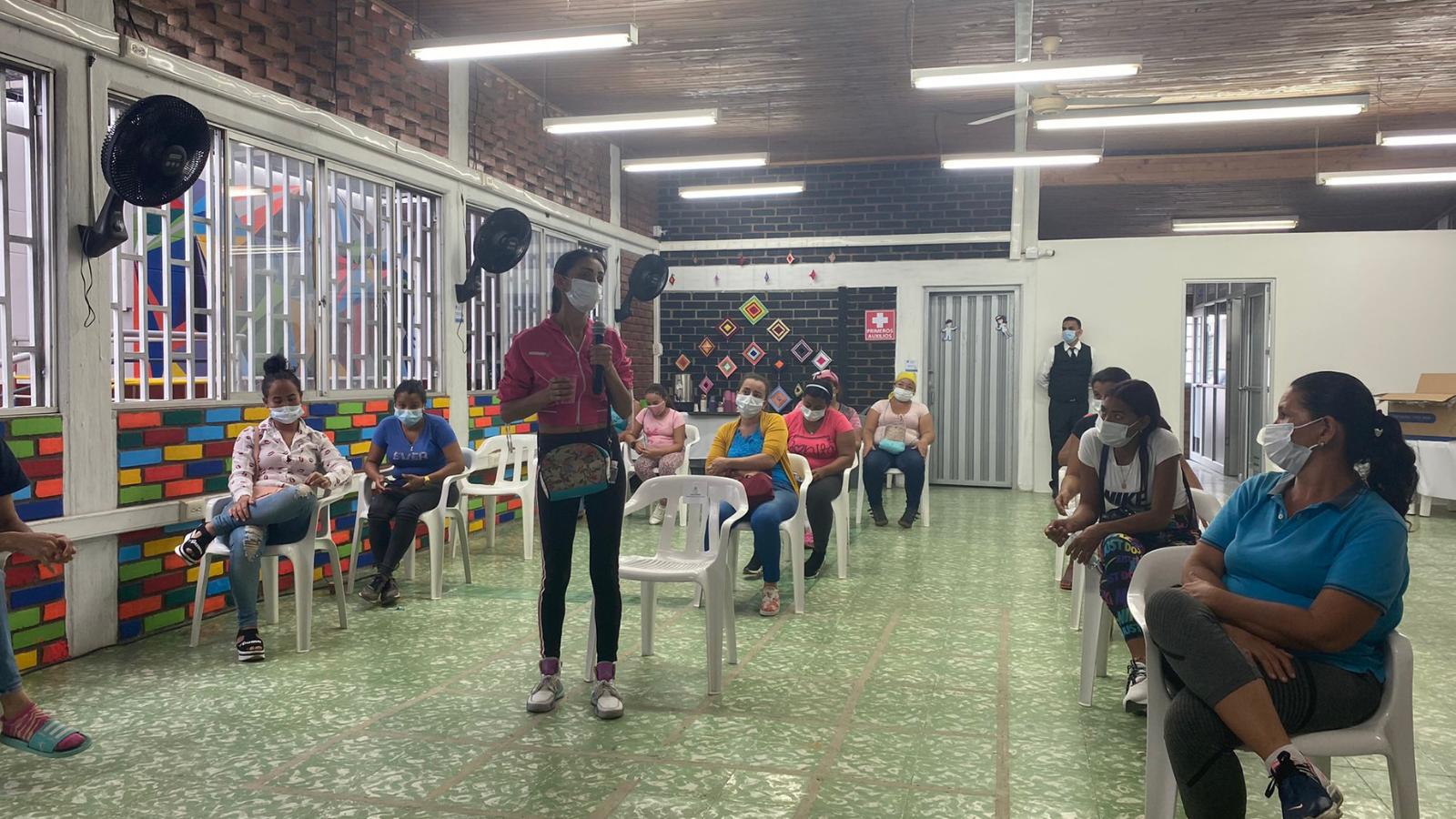 Mujeres migrantes recibirán educación financiera en Villa del Rosario