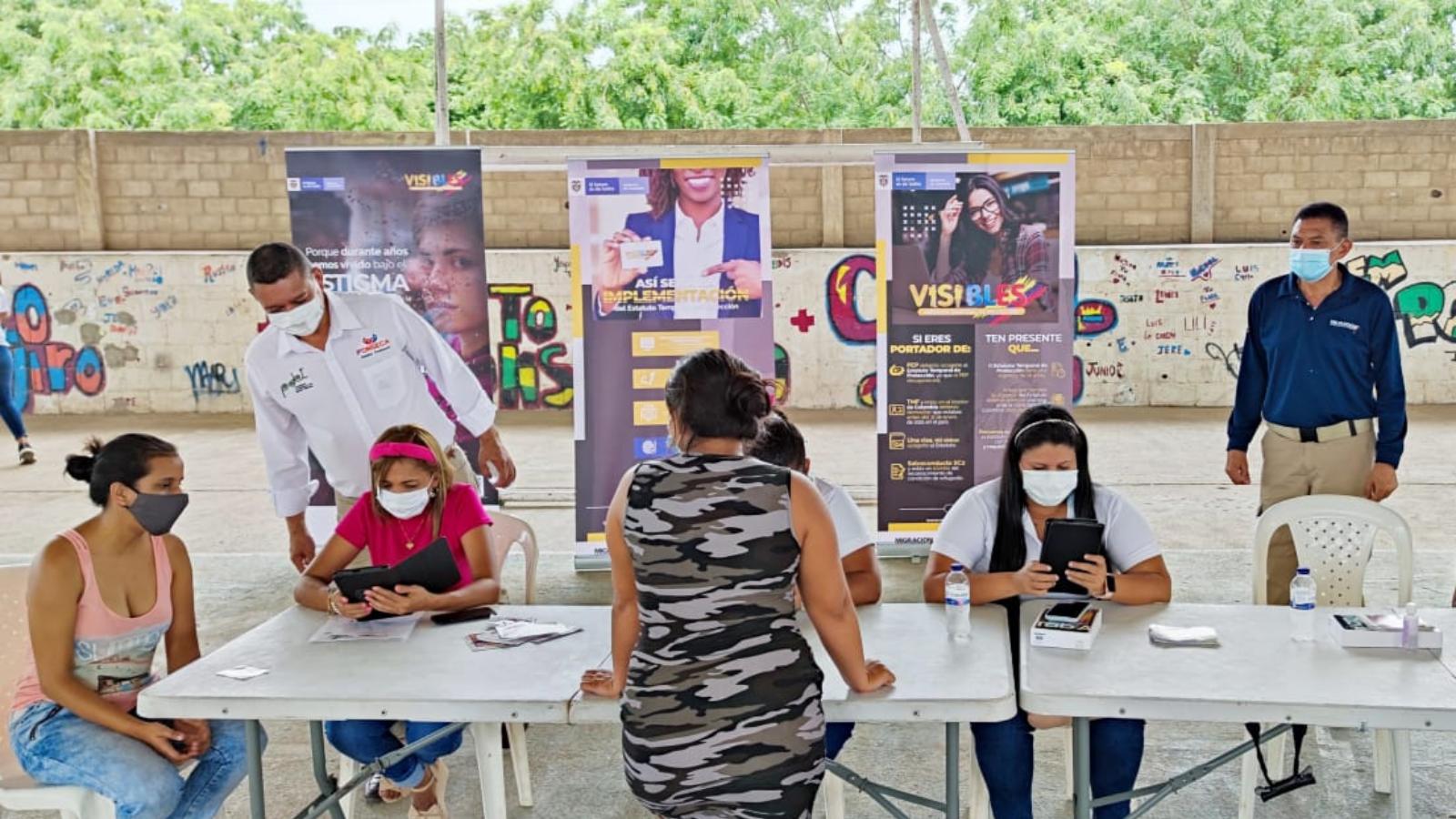 Migración Colombia habilitó 106 puntos presenciales para trámites de venezolanos