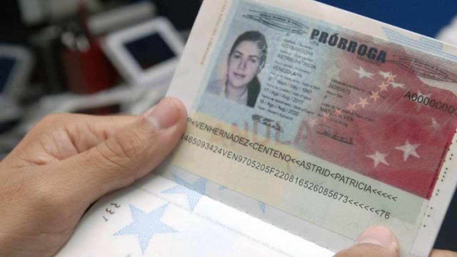 Pasaportes venezolanos: válidos aún si están vencidos