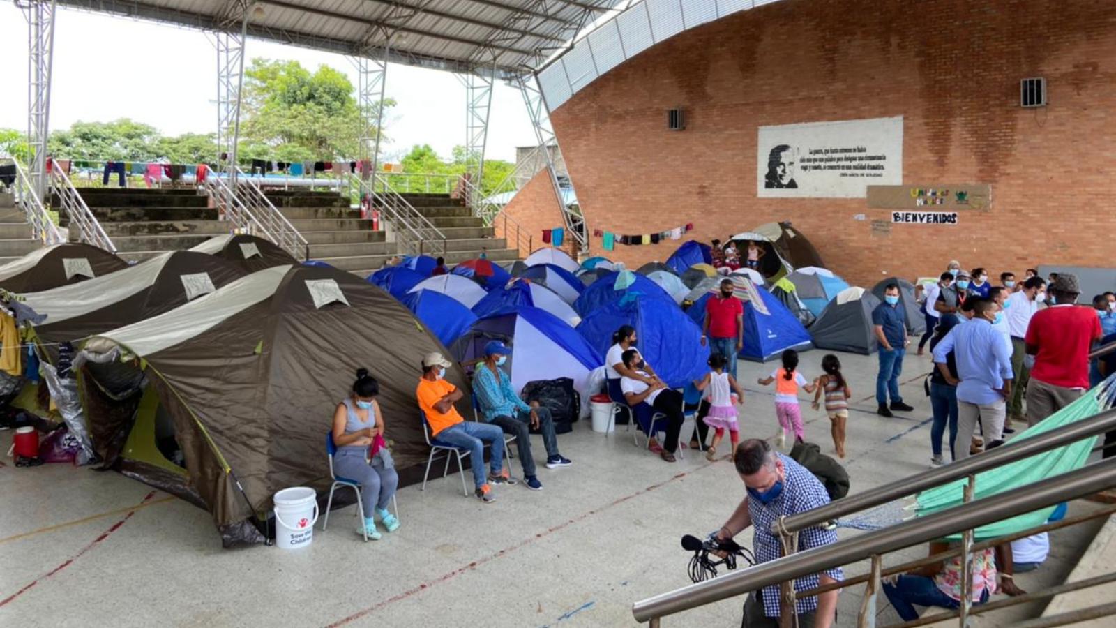 Crisis de refugiados y migrantes: le llegó la hora al mundo de ayudar a Colombia