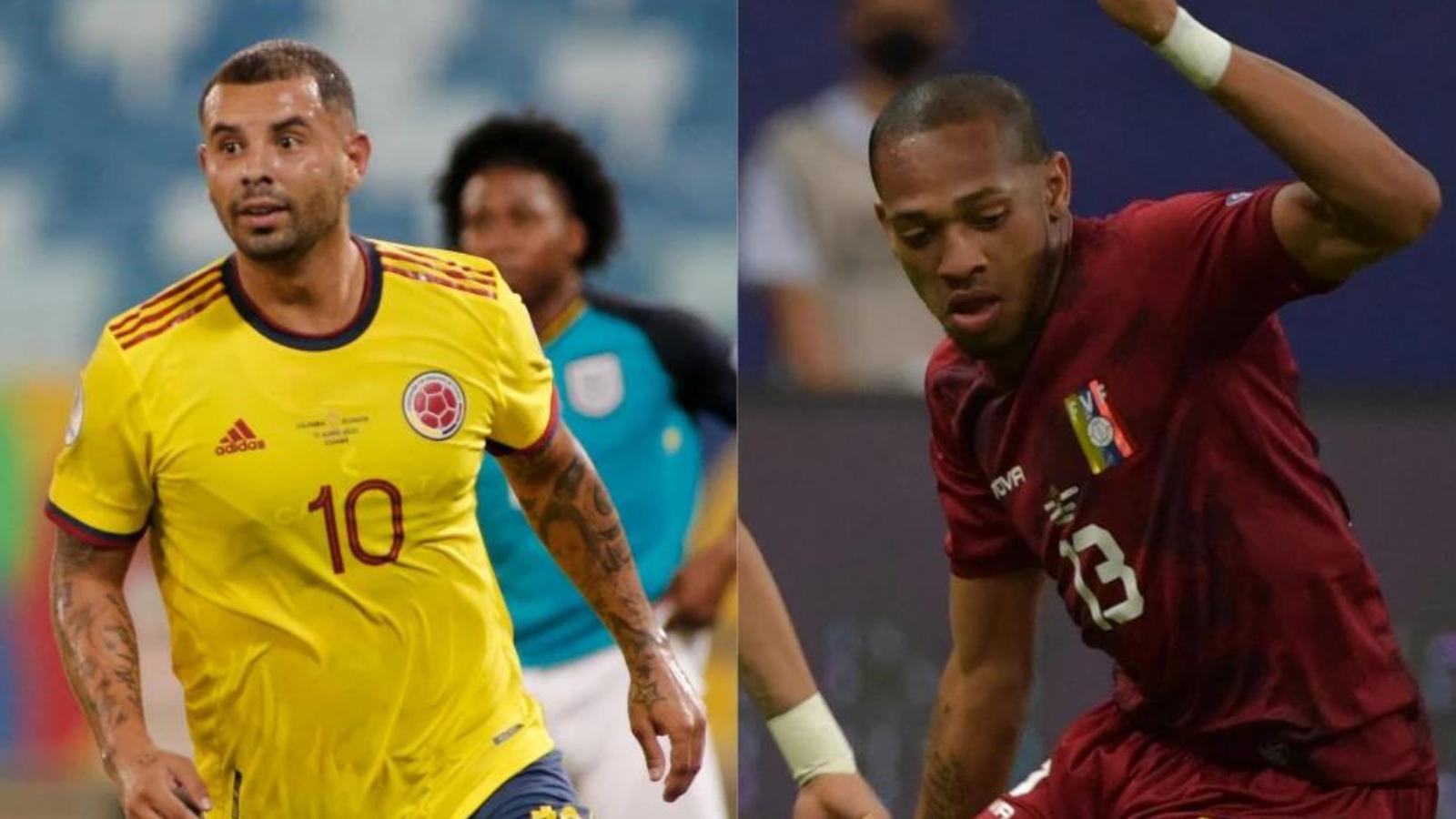 Colombia y Venezuela se enfrentarán en la segunda fecha de la Copa América 2021