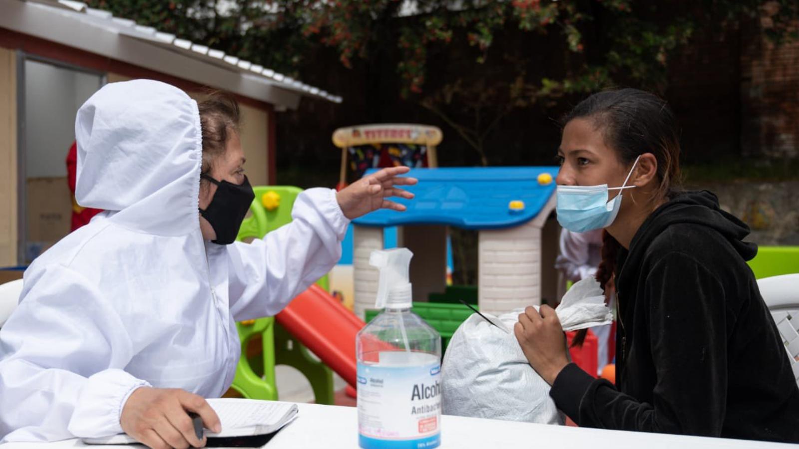 Abren centro distrital para migrantes, refugiados y retornados en Bogotá