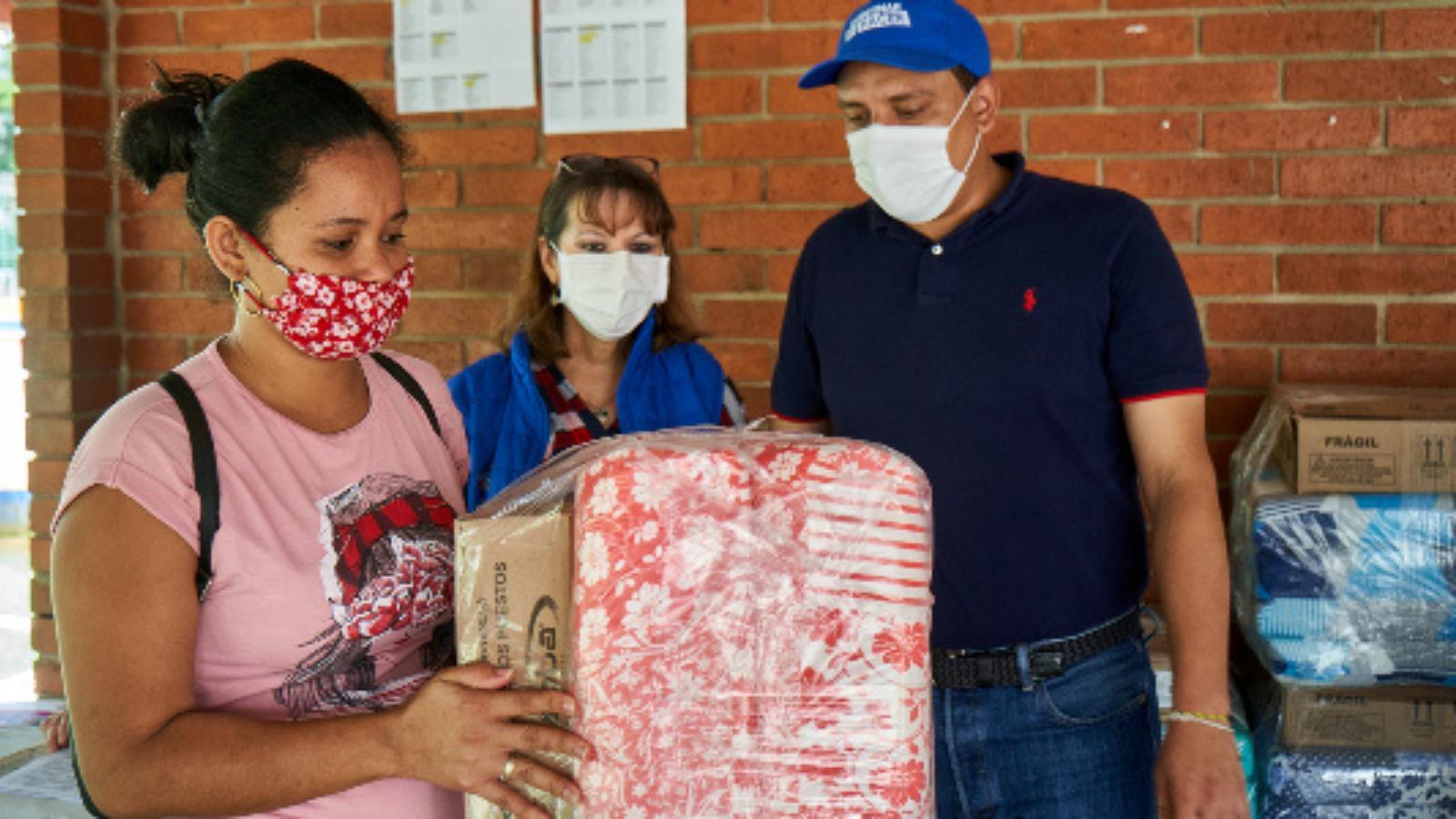Venezolanas en riesgo de explotación sexual recibieron ayudas en Bucaramanga