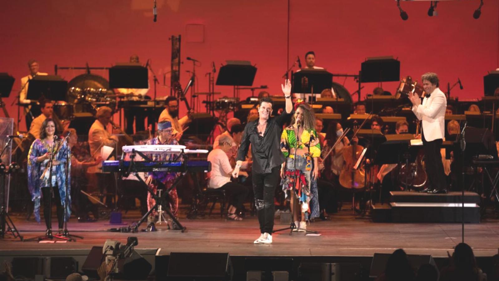 Carlos Vives y Gustavo Dudamel: Colombia y Venezuela brillan en Los Ángeles