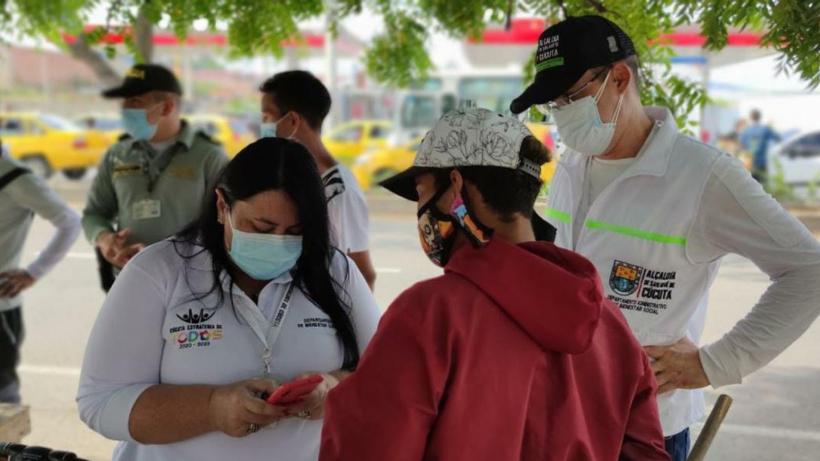 Cúcuta inicia censo virtual a migrantes venezolanos para acceder a la vacunación
